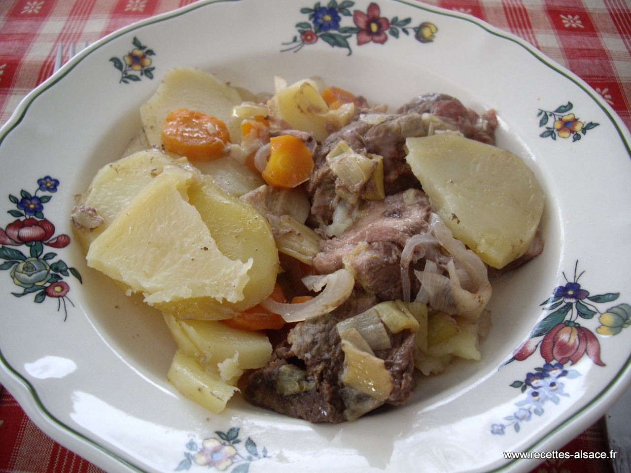 Baeckeoffe recettes d 39 alsace - Recettes cuisine alsacienne traditionnelle ...